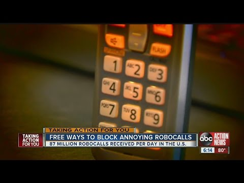 Free Ways To Block Annoying Robocalls