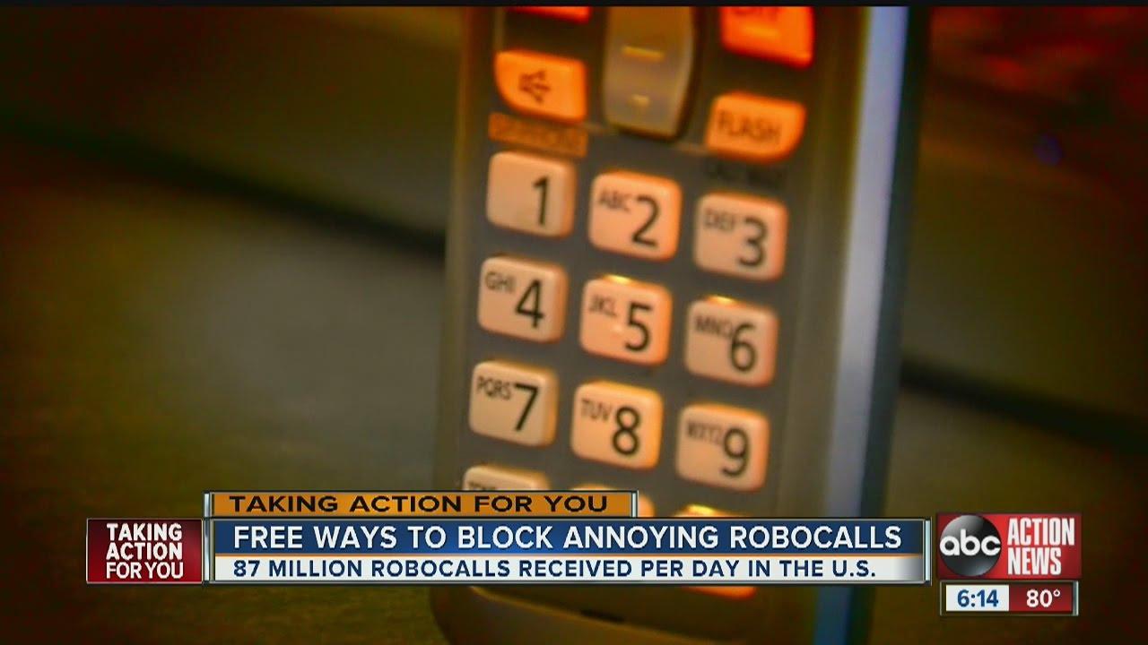Free ways to block annoying robocalls