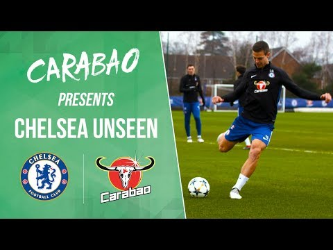 Azpilicueta Smashes The Chelsea Camera And All The Goals In Training | Chelsea Unseen