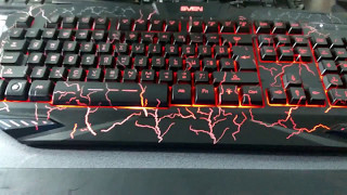 Sven Challenge 9900 Unboxing Gaming Keyboard  !!!