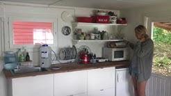 Riikan mökin keittiö