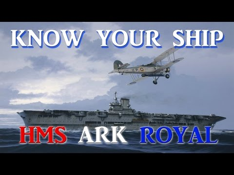 World of Warships - Know Your Ship #30 - HMS Ark Royal