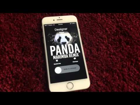 Desiigner Panda Marimba Remix Ringtone.