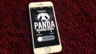 Desiigner Panda Marimba Remix Ringtone