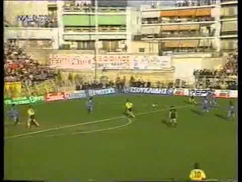 ΙΩΝΙΚΟΣ ΝΙΚΑΙΑΣ-ΑΕΚ 4-3  Πρωταθλημα 1992-93