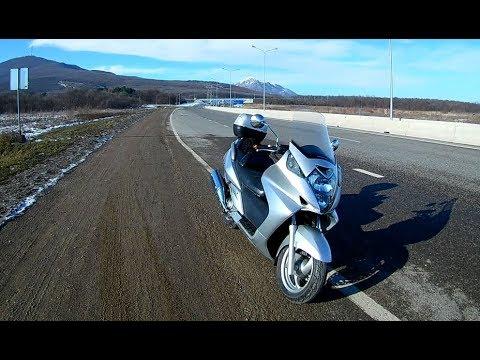 Honda Silver Wing 600 больше не гремит и быстро едет
