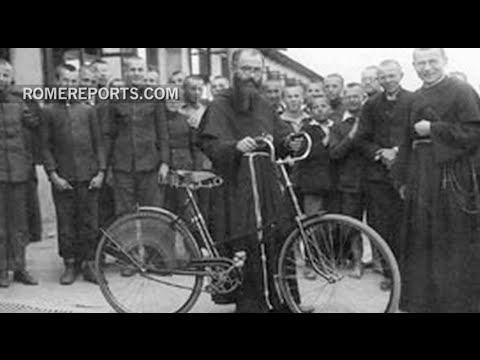 Maximilian Kolbe: Polish saint who replaced a prisoner on Auschwitz death row