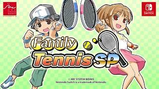 「familytennisSP」 trailer PV