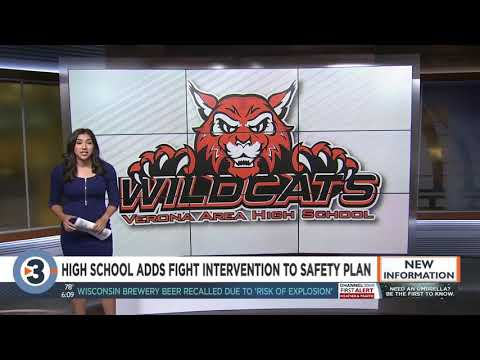 Verona Area High School adds fight intervention protocol to safety and security plans