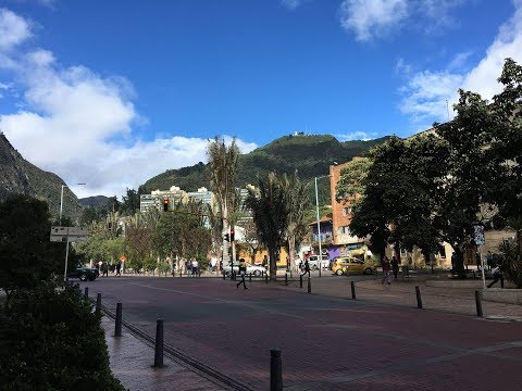 Exploring Downtown Bogota, Colombia