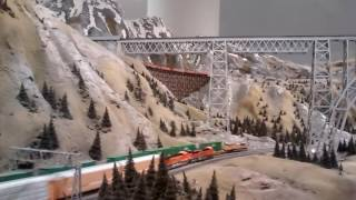 Mini Chicago: A tiny model of Chicago at the Museum of Science and Industry!