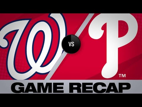 4/10/19: Nationals wallop Phillies for 15 runs