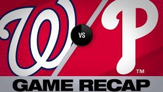 4/10/19: Nationals wallop Phillies for 15 runs