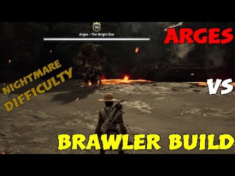 Arges vs. Brawler Build (Iron Fists) [NIGHTMARE DIFFICULTY] - Assassin's Creed: Odyssey thumbnail