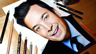 Drawing Jimmy Fallon