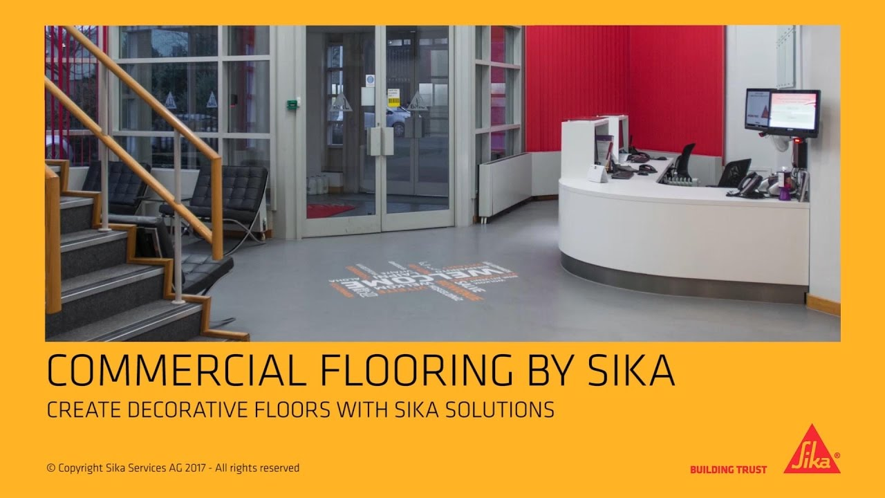 Sika Comfortfloor® Marble FX, For A Perfect Look At The Reception Area In  Office Buildings