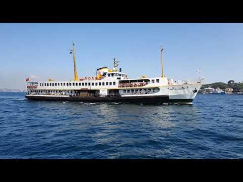 Download Ship Spotting Istanbul | Ferries passing by Galata bridge 26.08.2021