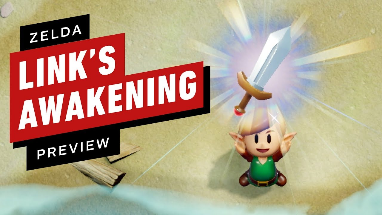 The Legend of Zelda - Link´s Awakening - Final Preview by IGN
