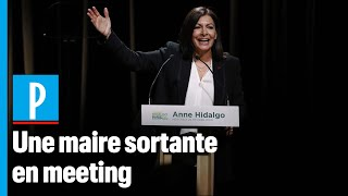 En Meeting, Anne Hidalgo Fustige « Les Partisans Du Retour En Arrière »