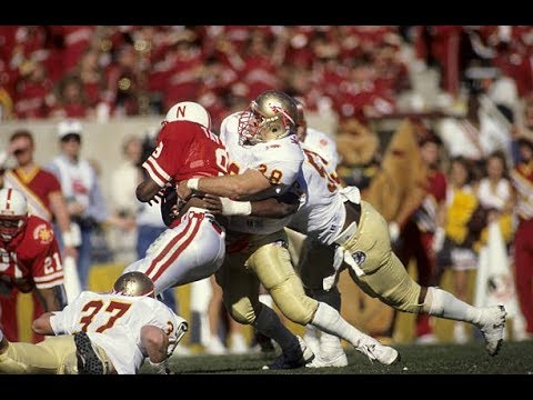 1988 Fiesta Bowl #3 Florida State vs #5 Nebraska No Huddle - YouTube