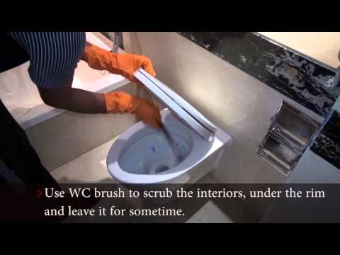 How to Clean WC Unit