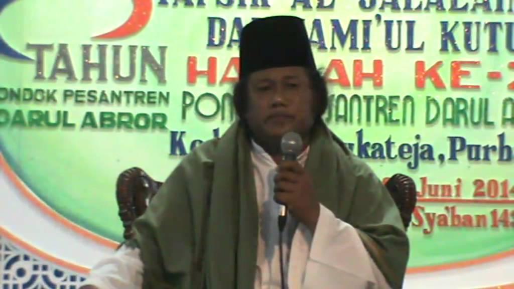 Gus Muwafiq 04 06 2014 Kedungjati Bukateja Purbalingga