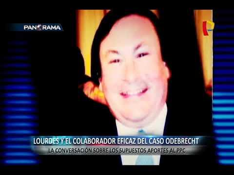 Lourdes Flores: así fue la conversación que sostuvo con Horacio Cánepa