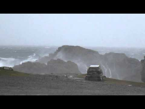 Storm at Outer Hebrides 2015