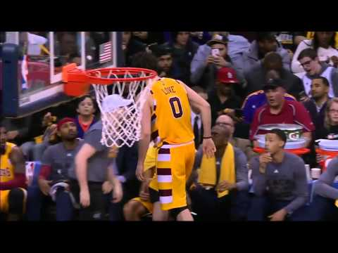 Los Angeles Lakers vs Cleveland Cavaliers | February 10, 2016 | NBA 2015-16 Season