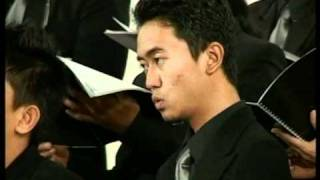 Volga Male Chorus - Beati Mortui (Felix Mendelssohn).mpg