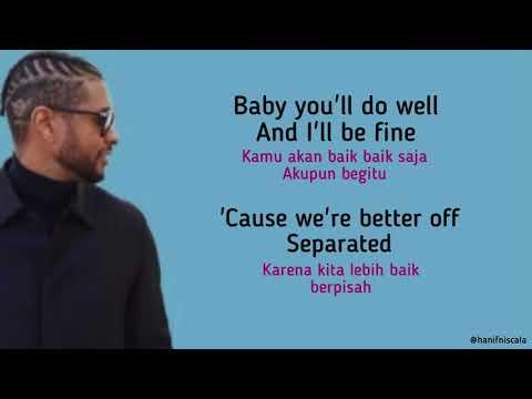 Usher - Separated | Lirik Terjemahan