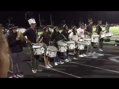 Hercules High School VS Pinole Valley High School Drumline Battle