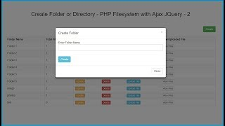 php create directory if not exists