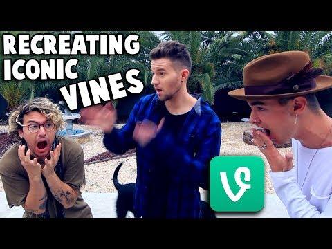 RECREATING ICONIC VINES w Kian & Jc