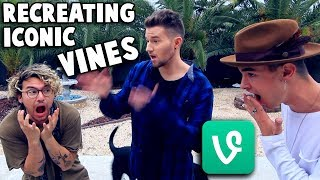 RECREATING ICONIC VINES w/ Kian & Jc