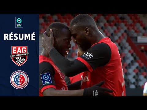 Guingamp Chateauroux Goals And Highlights