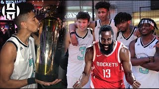 JAMES HARDEN's 1v1 & 2V2 Basketball Championship [Jesser & LSK vs KickGenius]