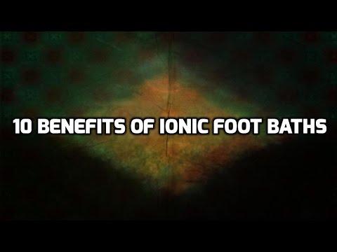 10 Benefits Of Ionic Foot Bath