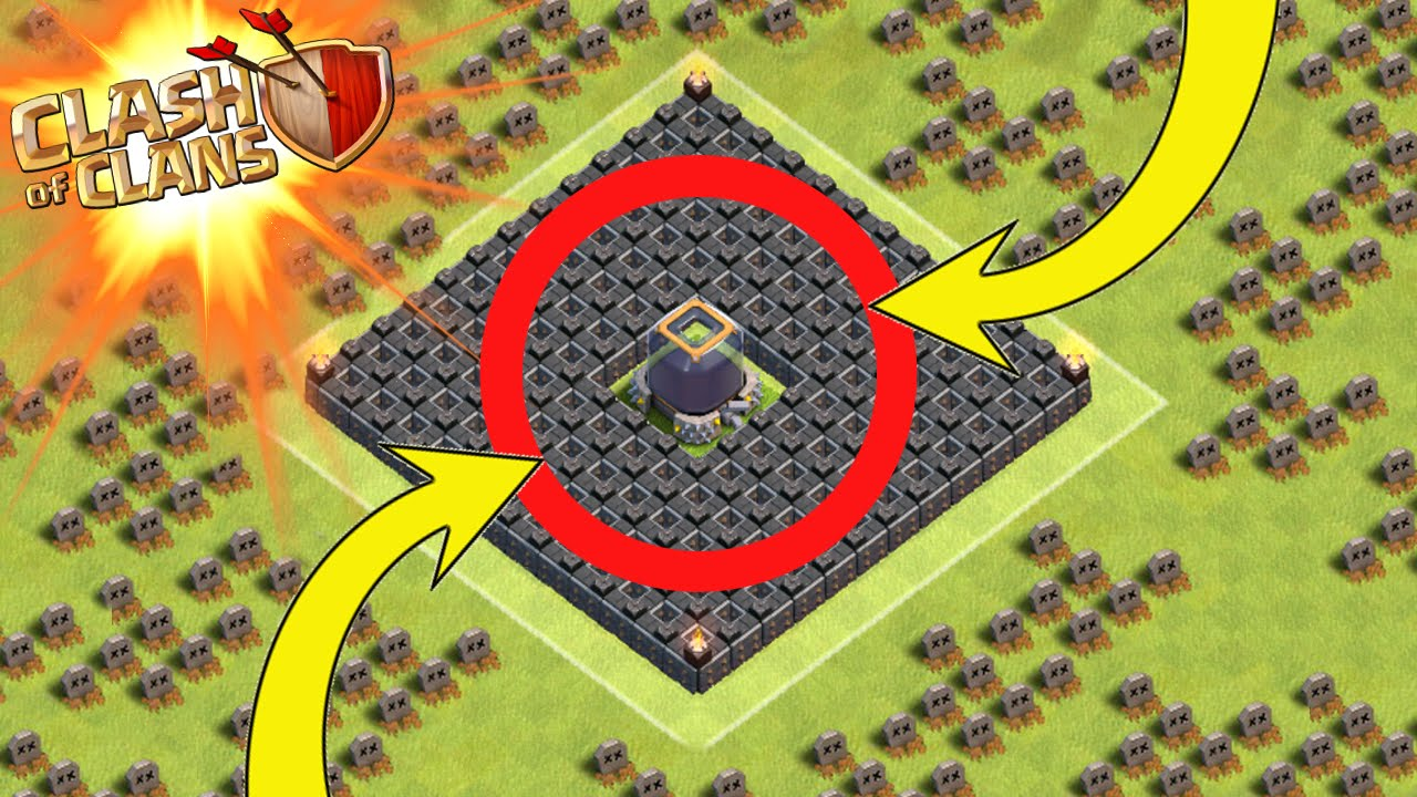 Clash of clans dark elixir protection new th7 amp th8 base youtube