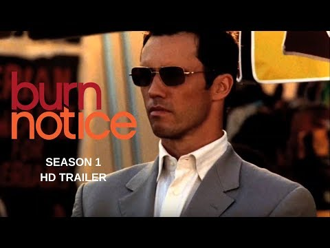 BURN NOTICE  season 1 Trailer #1 - Jeffrey Donovan - Gabriel
