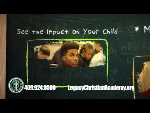 "Legacy Christian Academy ""The Gift of Success"" TV Commercial"