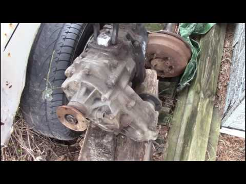 Toyota duel transfer case removal and shipping it out to new owner