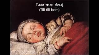 Lagu pengantar tidur anak Rusia, tapi kok horor yah?