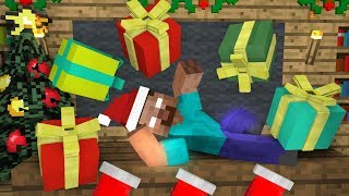 Monster School: Funny Christmas Gifts - Minecraft Animation