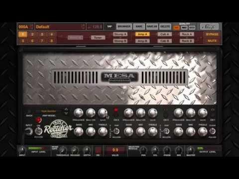 AmpliTube MESA/Boogie - Overview