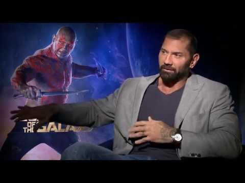 "Marvel's ""Guardians of the Galaxy"" - Dave Bautista Interview"