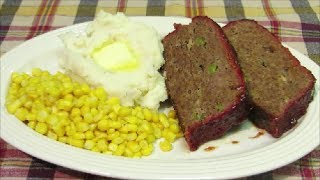 The Best Smoked Meatloaf Recipe - How To Make Homemade Meatloaf
