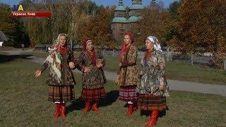 """Фестиваль """"Весільна казка бабиної скрині""""  прошел в столичном музее народной архитектуры и быта"""
