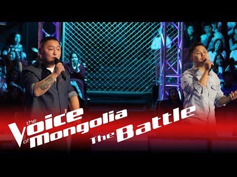 "Erdenejargal vs. Zandanshagai - ""Durlaj Bichsen shuleg"" - The Battle - The Voice of Mongolia 2018"
