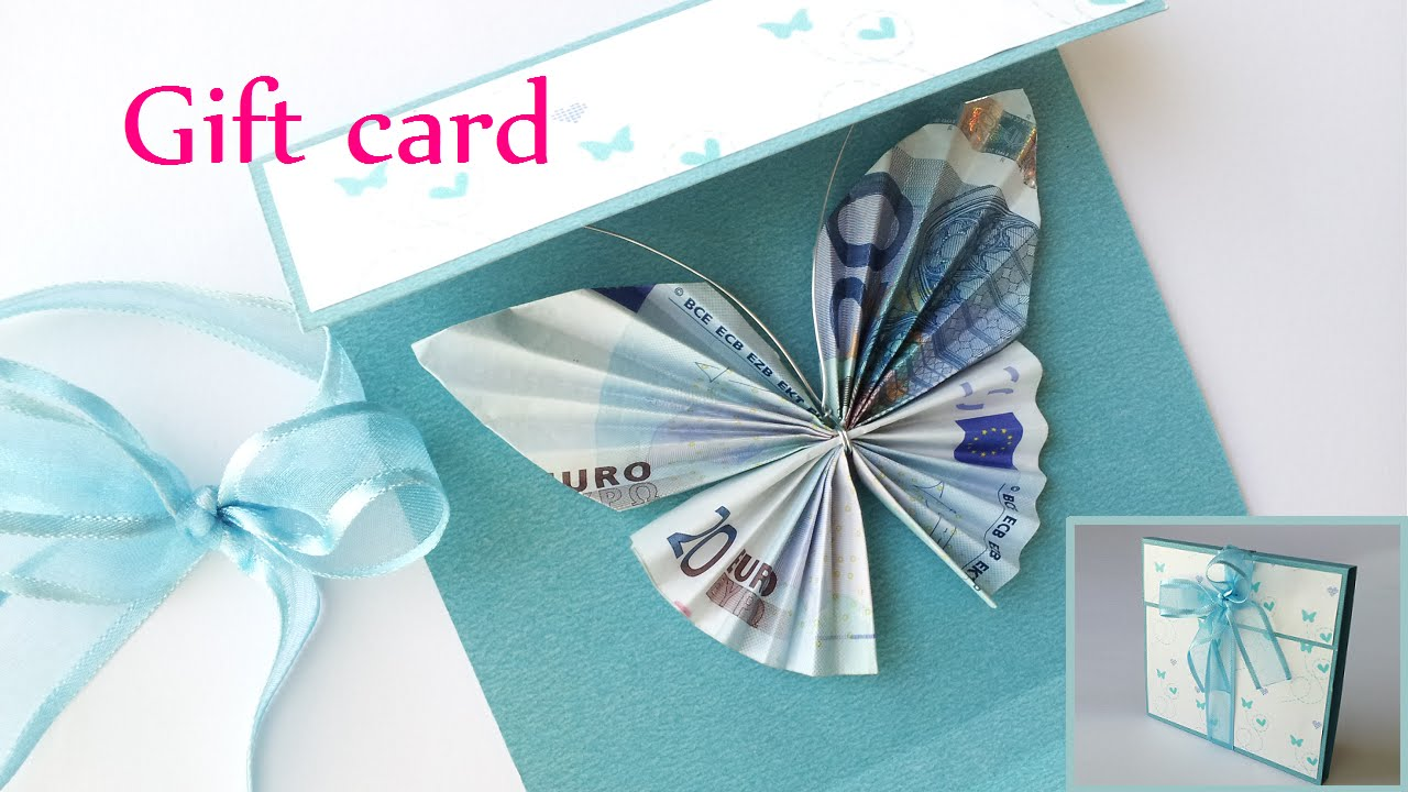 DIY crafts: GIFT CARD Money Holder (butterfly) - Innova Crafts ...